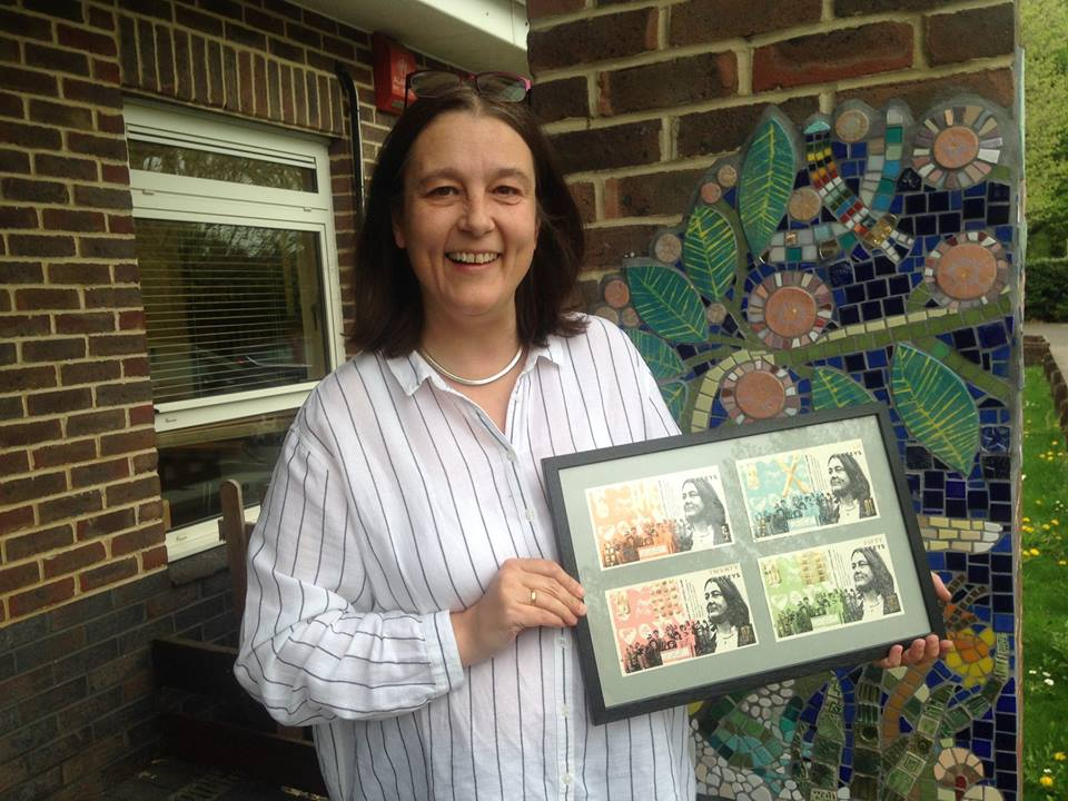 Tracey Griffiths from Barn Croft School - a stalwart of our local community - and one of the four amazing local people to grace our bank notes. With the help of our community of art buyers, we were able to put £20,000 into four excellent local causes, £5000 into each in November. We will never forget the reaction of the children