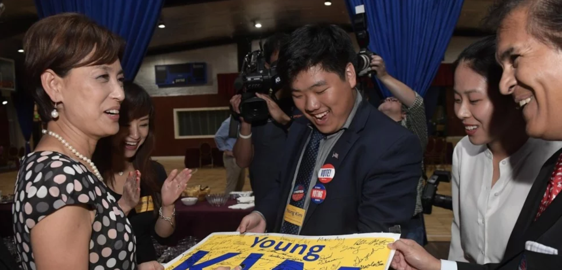 History in the mailing? -  Southern California congressional race featuring Korean-American Young Kim comes down to mail-in ballots