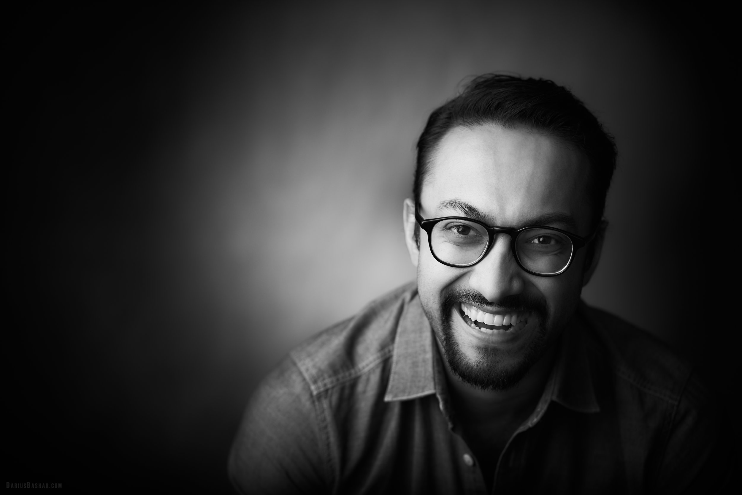 """UJ RAMDAS   """"Darius is a true artist. He loves his craft, pays attention to the details and has a heart of gold. It was fun shooting with him!"""""""