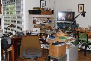 my studio - it is in process.