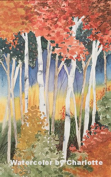 Autumn Color Burst