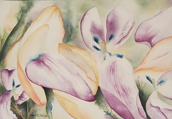 Falling Tulips II