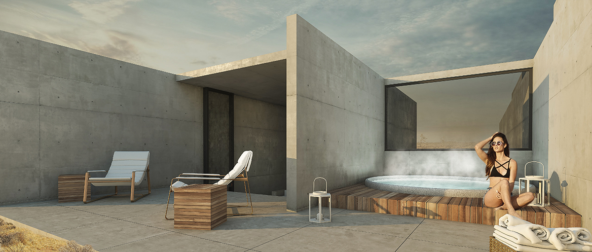 SKy Terrace with Outdoor Hot Tub
