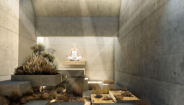 Earth Element Courtyard