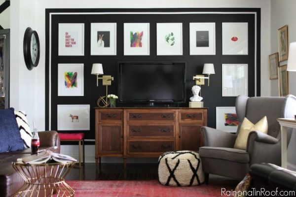 The Ultimate Guide To Decorating A Tv Wall Jessica Devlin Design