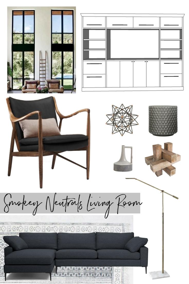 Smokey Neutrals Living Room
