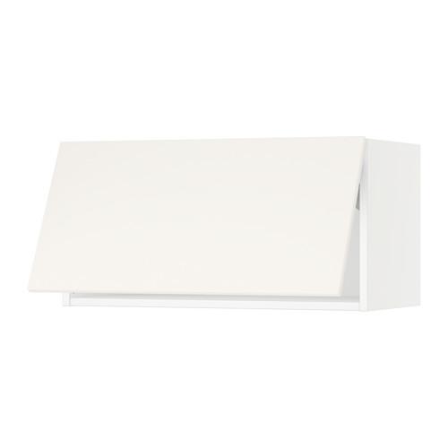 Wall cabinet horizontal, white, Veddinge white