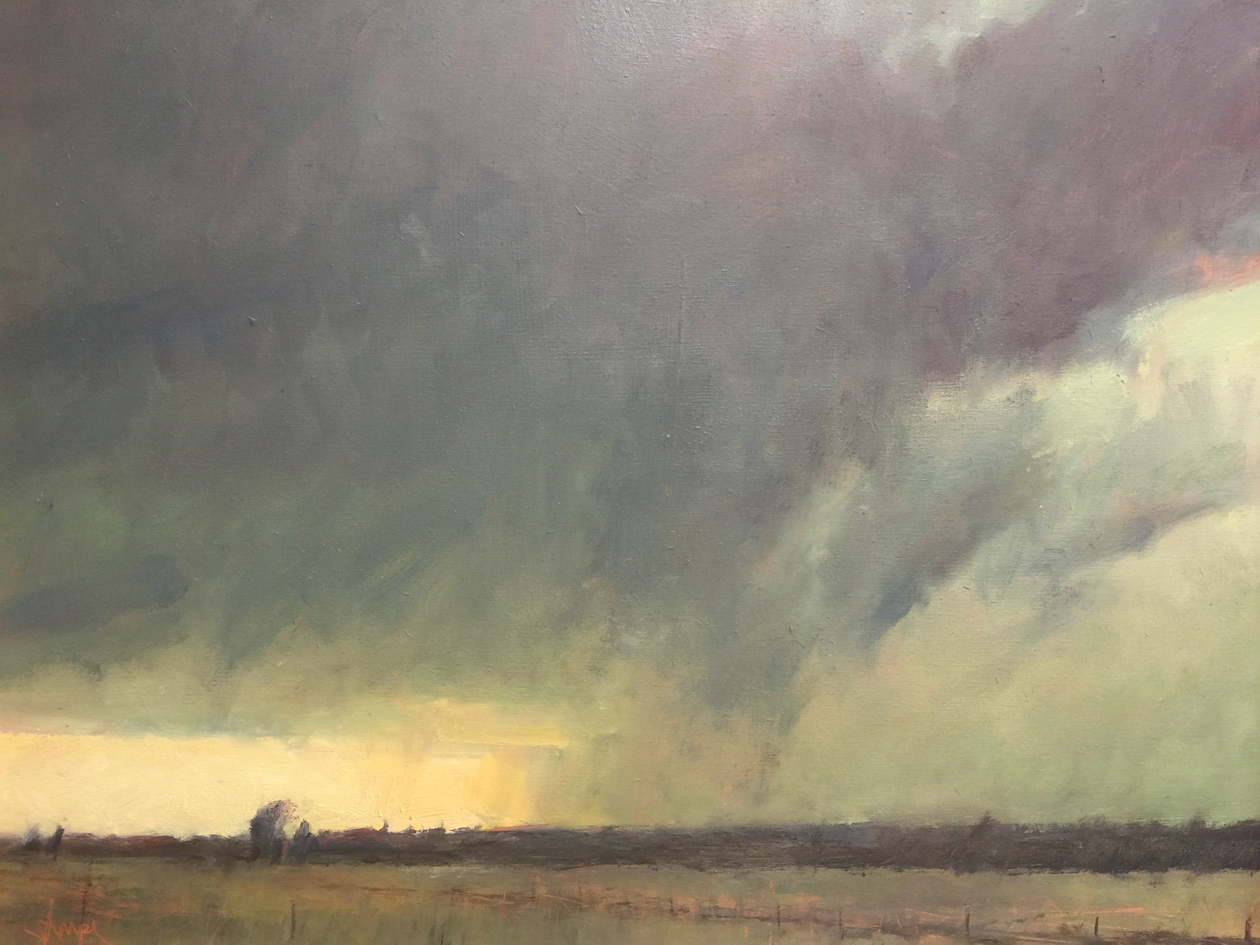 'Clearing Up -Perth County'  (Ontario)(Sold)