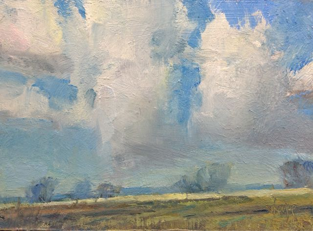 'Summer Clouds-Perth County'(Sold)
