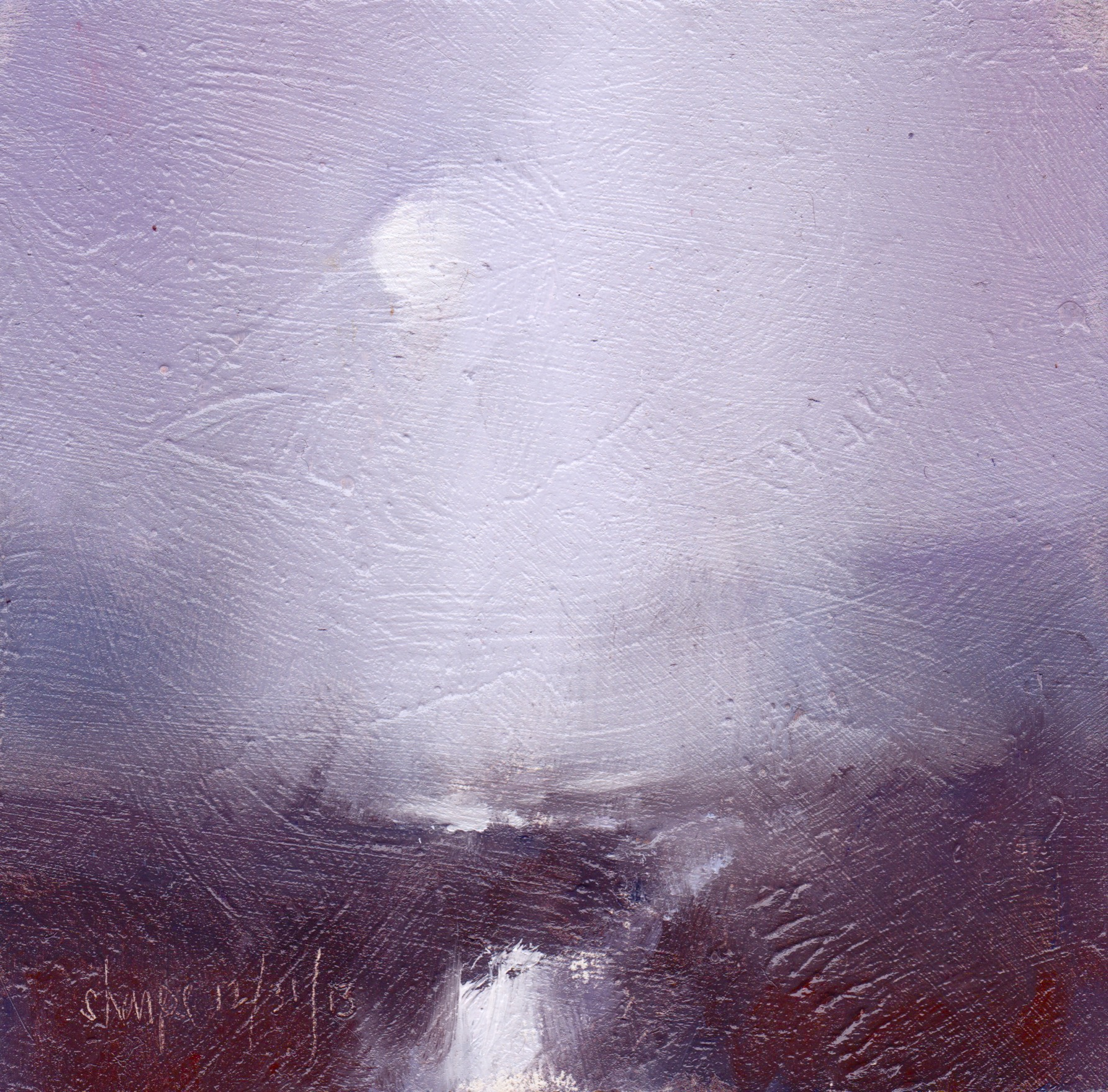 'Snow Shower Over The Flats' (NFS)