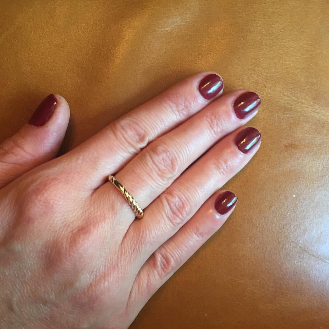 "@opi_products ""We the Female"" #nails #mani #manicure #coloroftheweek #polish #nailpolish #isitfallyet"