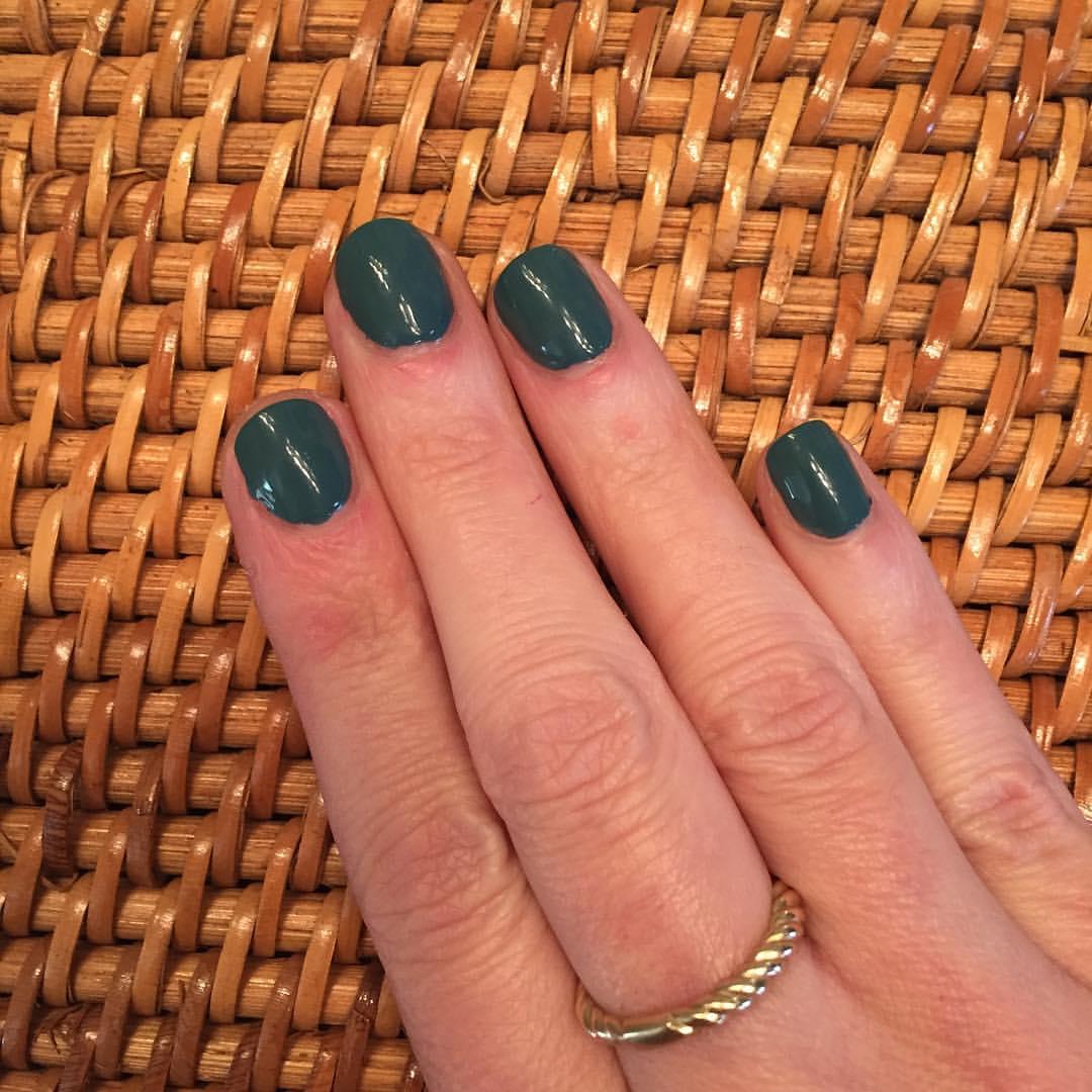 "@essiepolish ""Poolside Service"" #nails #mani #manicure #coloroftheweek #polish #nailpolish #beauty #blogger"