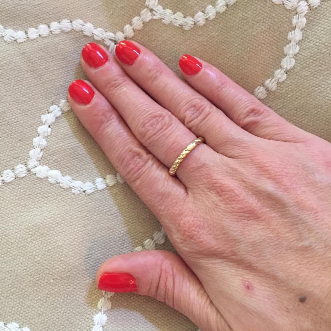 "@essiepolish ""Hiking Boots"" #mani #manicure #polish #nailpolish #coloroftheweek #beauty #blogger"