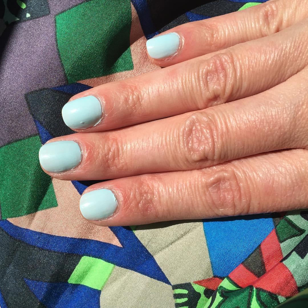 "@opi_products ""It's a Boy"" (and no I'm not #preggers) #nails #mani #manicure #coloroftheweek #polish #nailpolish #beauty #blogger"