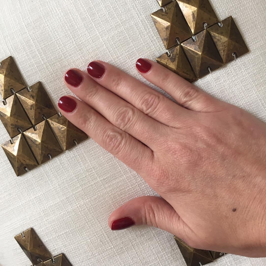 "@opi_products ""Amore at the Grand Canal"" #manicure #nails #nailpolish #coloroftheweek #red #beauty #polish"