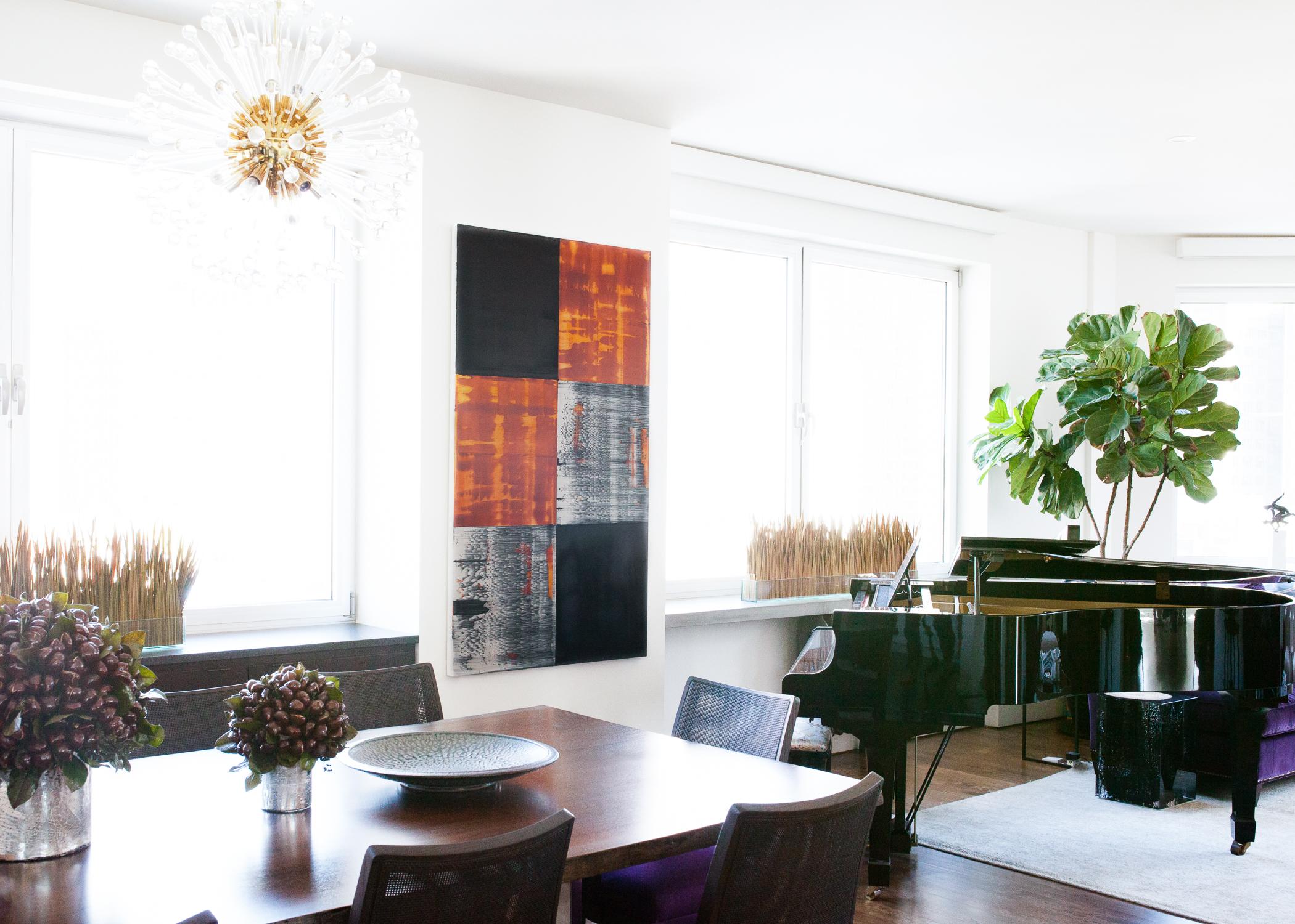 Ricardo Mazal in a Client's Tribeca Loft. Photo:  Amelie Belanger