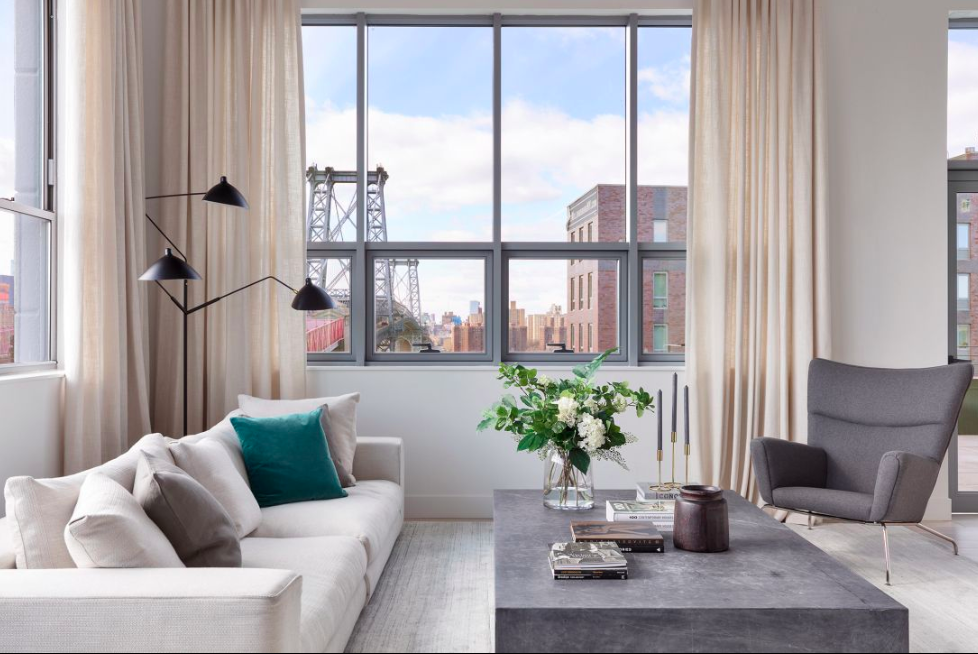 Photo cred:  Donna Dotan Photography  for 338 Berry St. Williamsburg. Design by the  New Design Project .