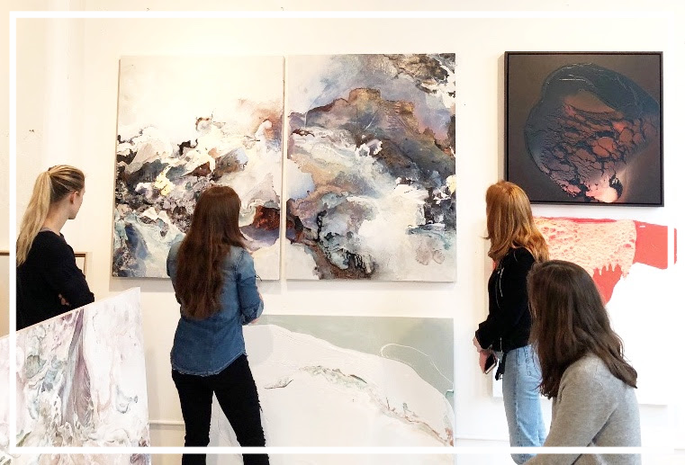 5. We took some friends to Renee Phillips Studio. Come next time! -