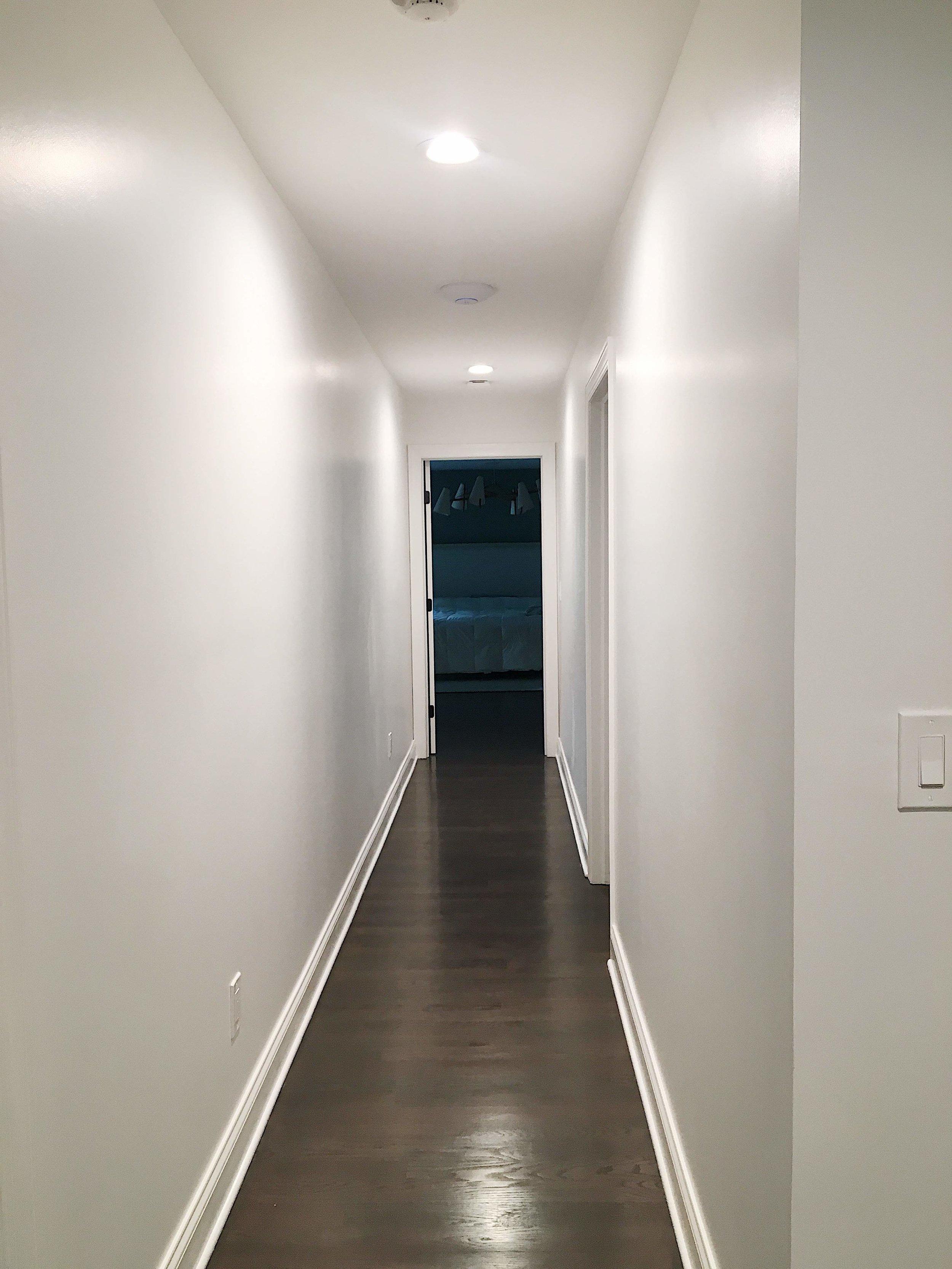 Behold said XXL hallway