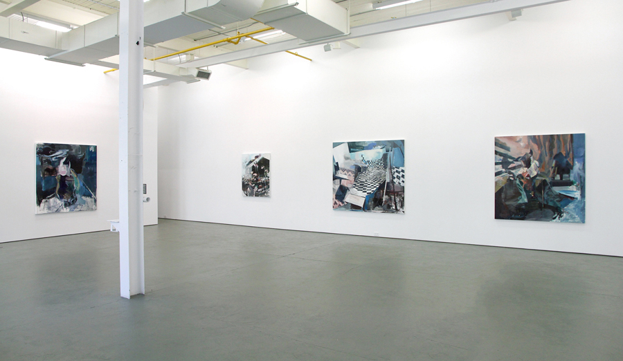 Exhibition view at Galerie Antoine Ertaskiran