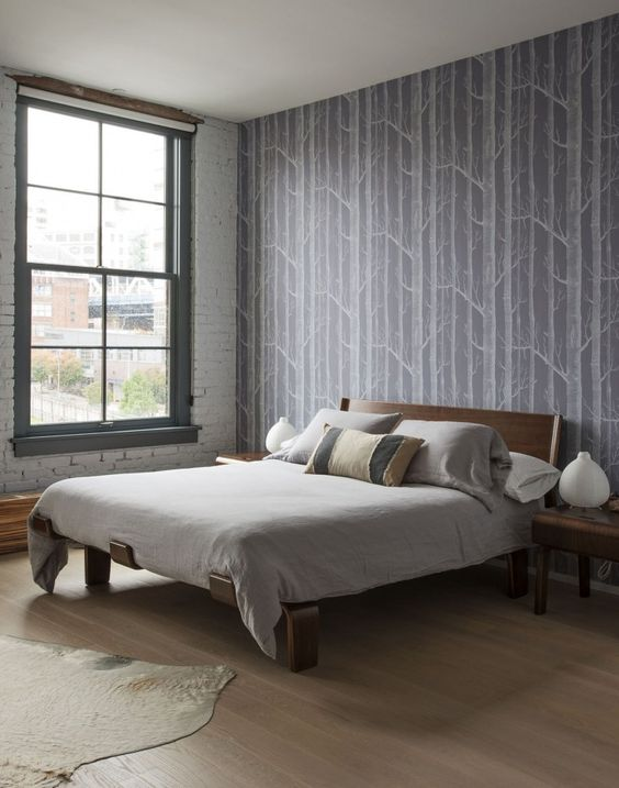 2: Laura shared: Where We Wallpapered and Why. -