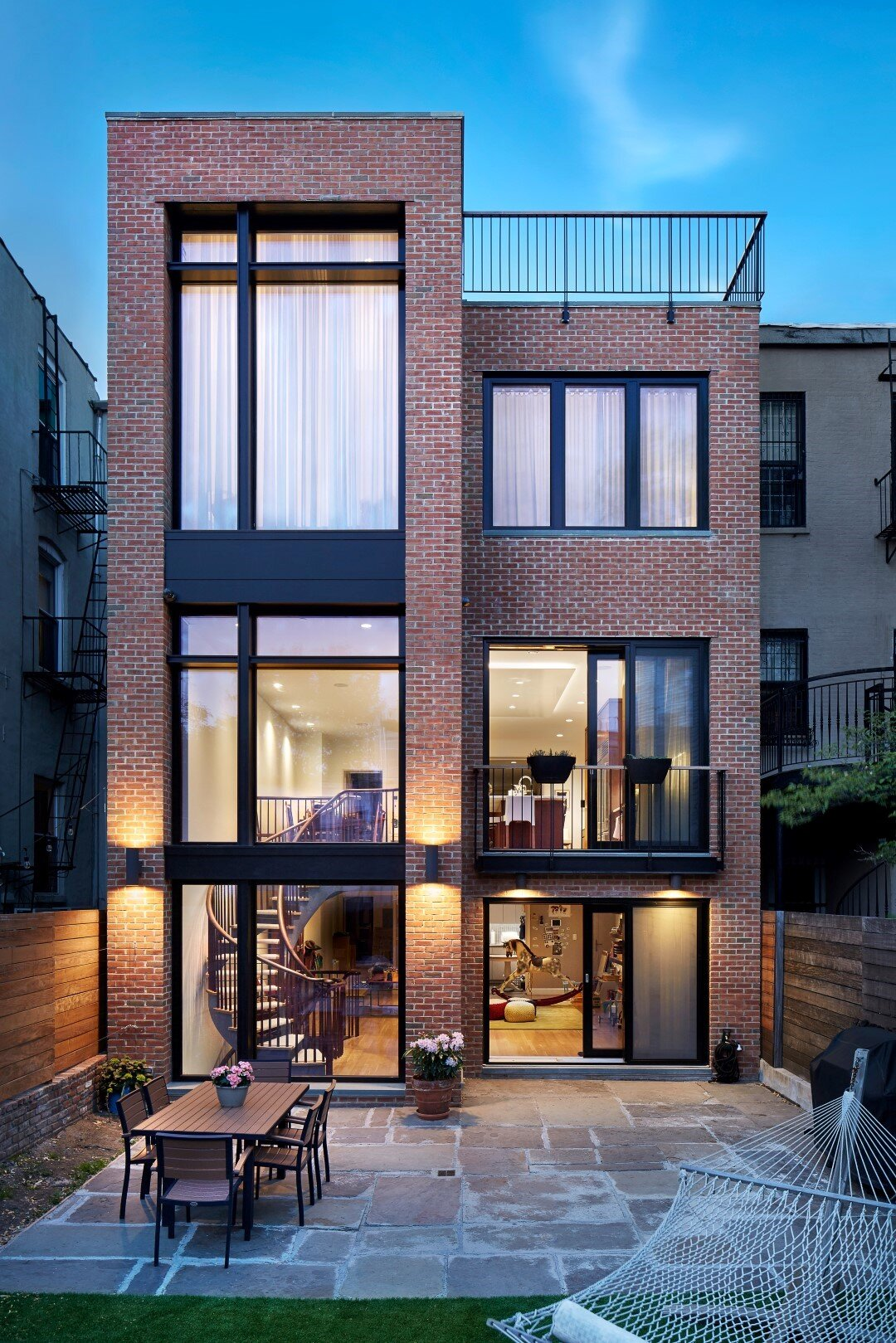 First Certified Passive House Plus in the US, competed by Baxt Ingui Architects,  photo courtesy Baxt Ingui Architects