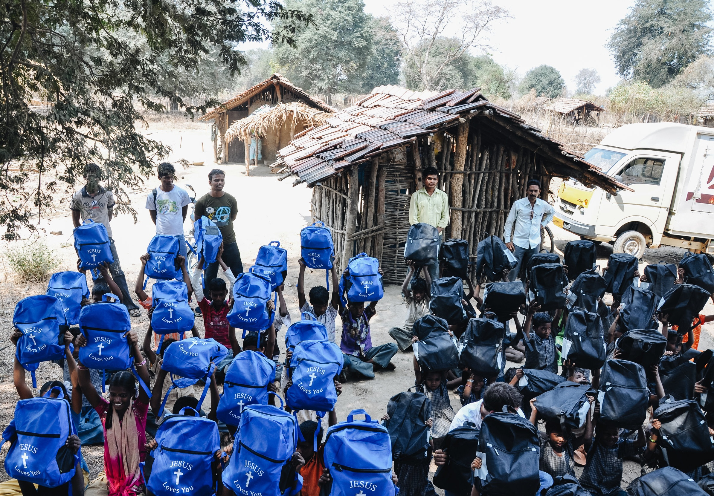 Project 15 Update: 5/9/19 - Our awesome team in India is busy preparing everything for the huge distribution of 2,000 book bags this month. eMite will be traveling to Bhadrachalam, Manuguru, and Mancherial. These rural villages are within 5 hours drive of Hyderabad and the need is great. In each location we will be distributing book bags full of educational supplies so children can attend school and receive an education. Join us today! #GiveYourMite- eMite Team