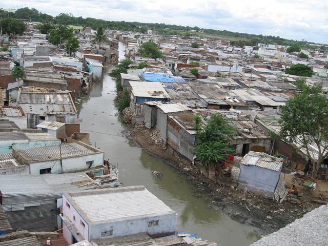 Project 15 Insight: 5/14/19 - Hyderabad houses roughly 6.8 million people, making it the fourth most populous city in India. However, according to a recent census, one third of the total population live in the 1,476 slums in and around Hyderabad. One of Hyderabad's most populous slums is called Indiramma Nagar (pictured left) with 620,000 individuals. For young boys and girls the opportunity to go to school can change their lives forever. Donate $10 today and open the door to education.*Source photo.