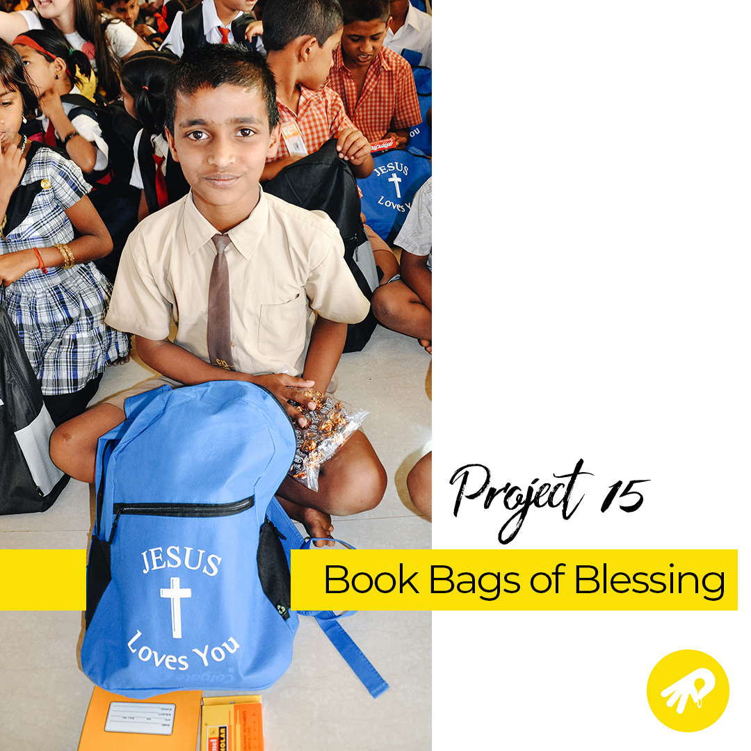 Project 15 Update: 5/16/19 - The educational materials in each backpack will include items such as: pens & pencils, ruler, 10 notebooks, clipboard, eraser, and Mailbox Club lessons translated into Telugu. The materials have been sourced from manufacturers and redistributed via cargo vehicles managed by our in field coordinators.In less than a week our eMite team will be heading to Hyderabad, India to distribute 2,000 book bags. When you #GiveYourMite, you can be a part of this mission to give children an education.