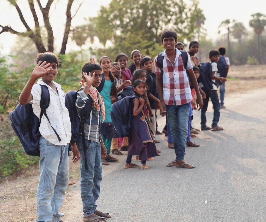 In Field Update: 5/23/19 - eMite landed in Hyderabad on May 22nd in the early morning and hasn't stopped since. We have distributed 630 book bags in three different villages since yesterday! The villages we have visited are: Kondapuram (350 children), Siddi Samudram Thanda (150 children), and Venkatraopet (130 children). The children are so happy for their new book bags with school supplies! We are so thankful for every eMiter involved. You guys are awesome and we wouldn't be here without you. Stay tuned for another update. 👆 #GiveYourMite