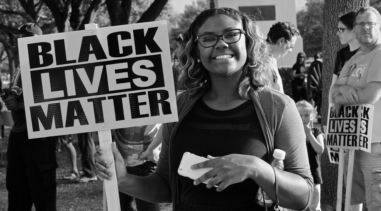 Black Lives matter rally