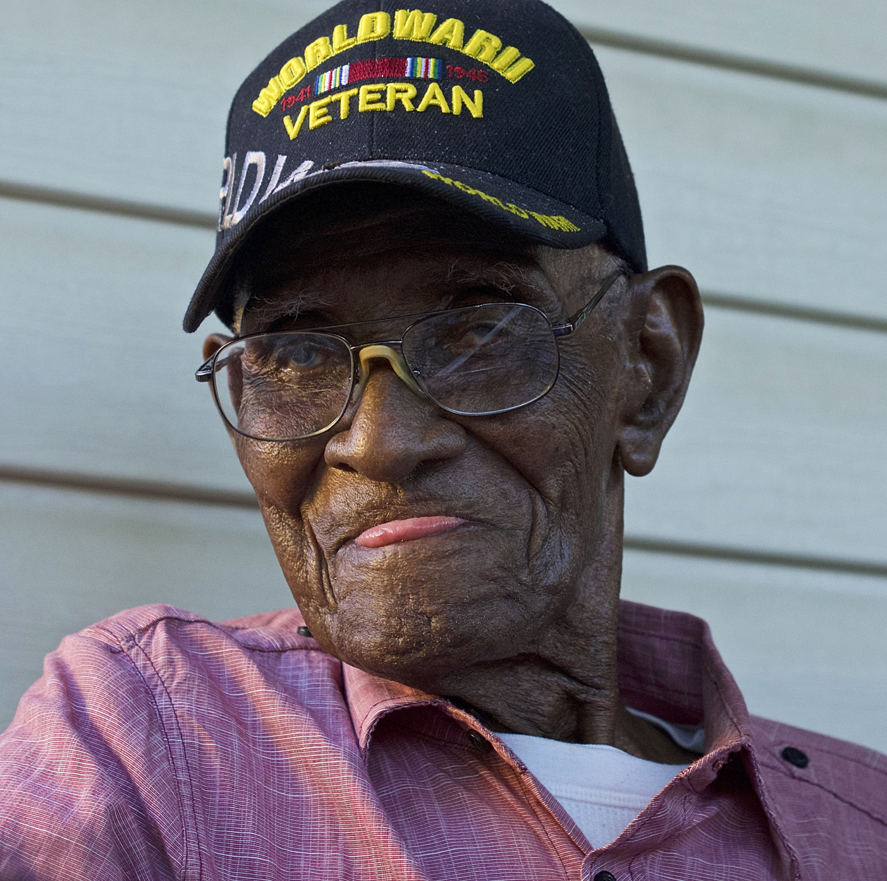 Richard Overton, an American treasure, is the nation's oldest living World War II veteran. He celebrated his 112th birthday on May 11, 2018.
