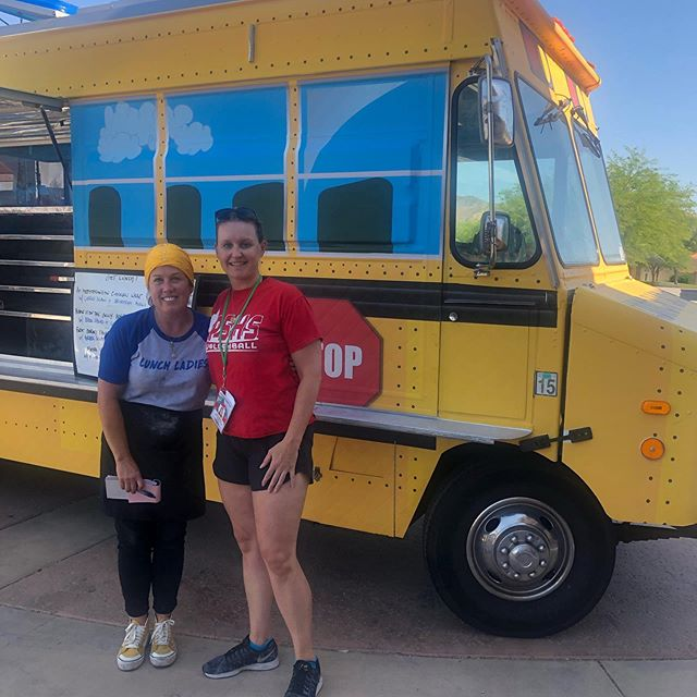 We had a great time hosting @lunchladiesfoodtruck at #shortfest19 and you can find them at @desertwateragency TODAY for lunch!!!