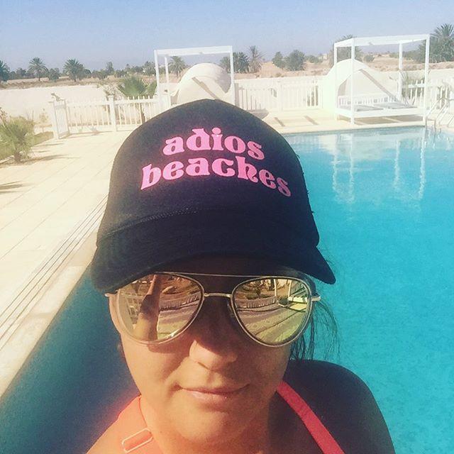 Our tribe made it to Tunisia! 📷: @iceln . . . . #tunisiatravel #adiosbeaches #lifeofbadassmoms #rhoc #tresamigas #truckerhat #badassbitches
