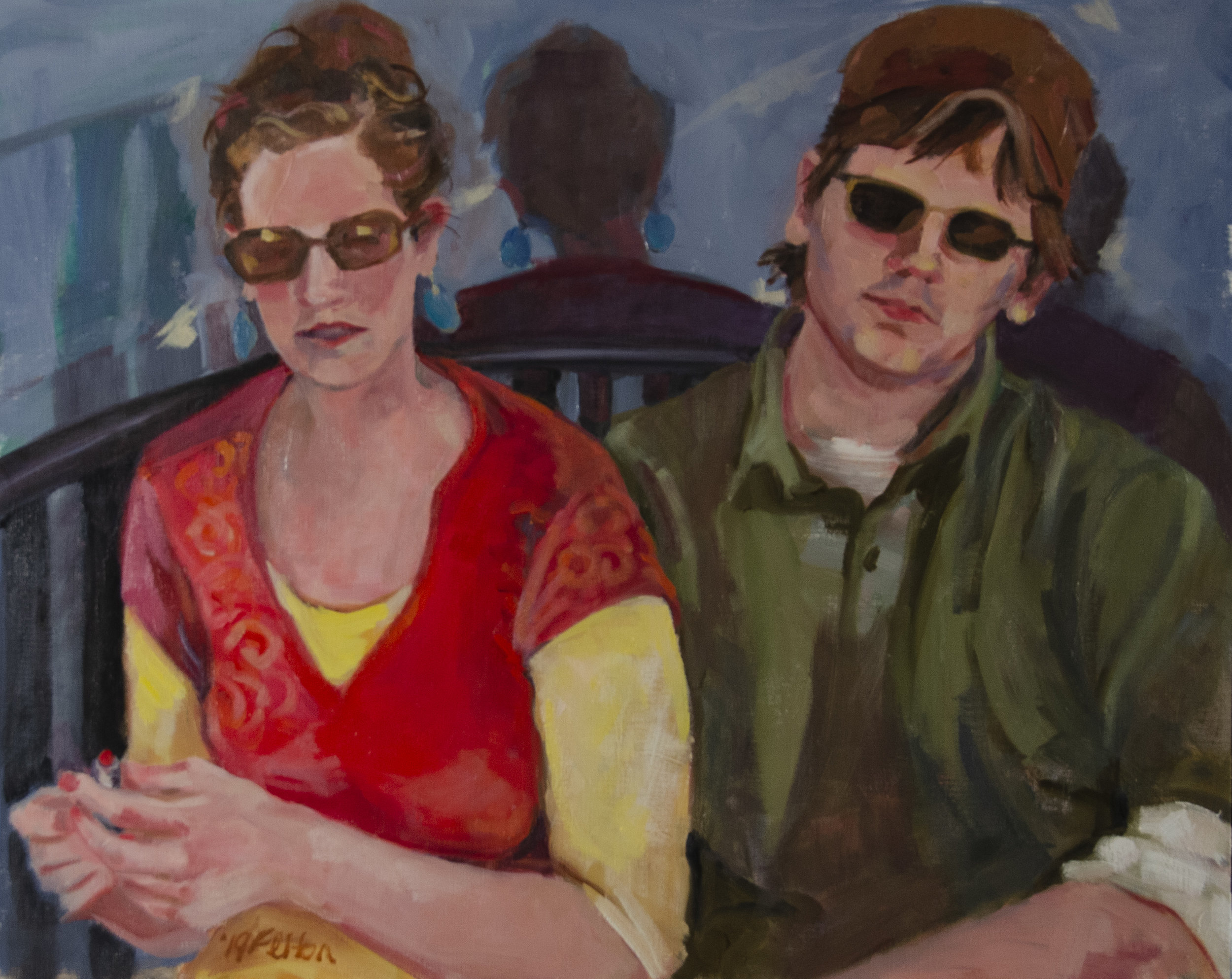 Waiting for a Table is showing at Summer Serendipity! - Johns Creek Arts Center