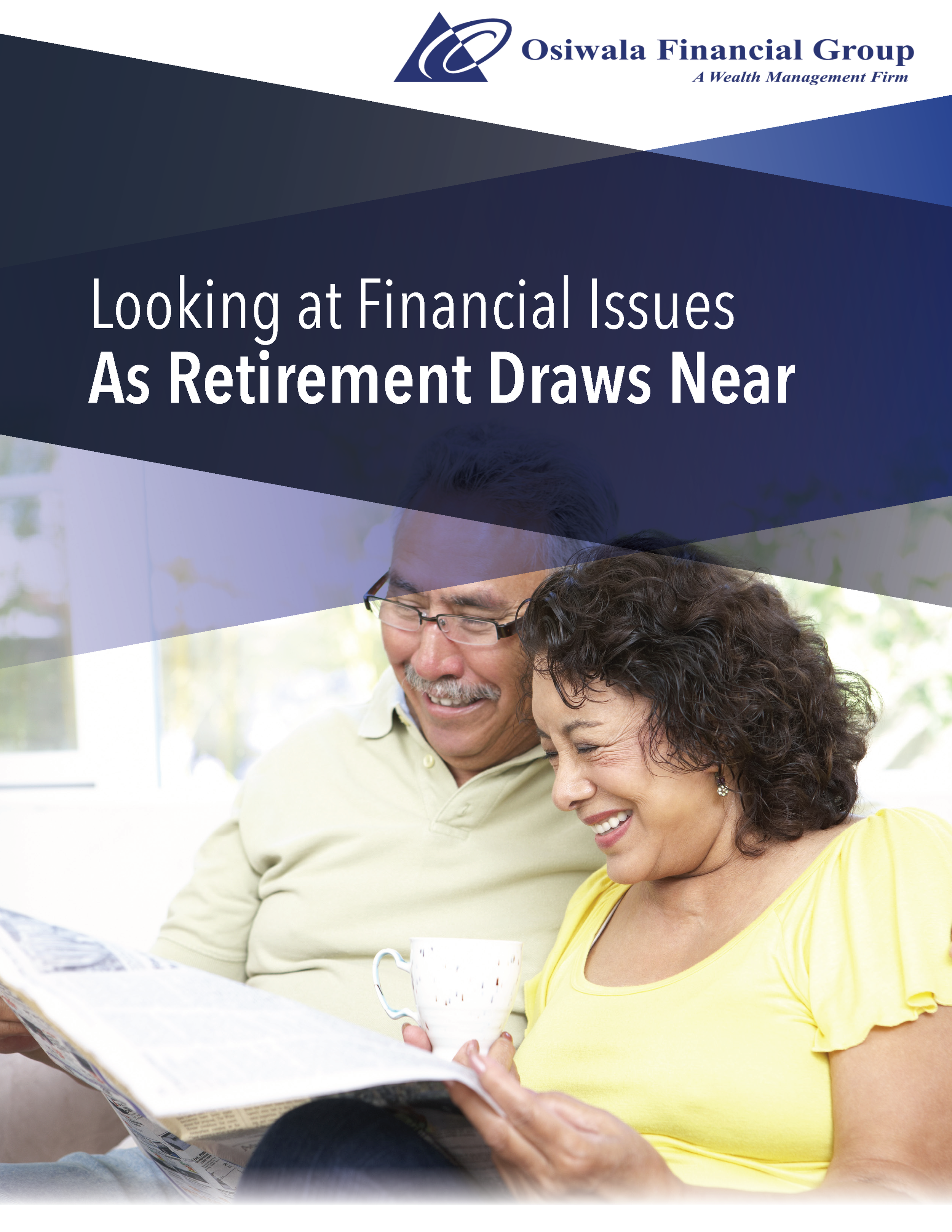 Looking at Financial Issues as Retirement Draws Near