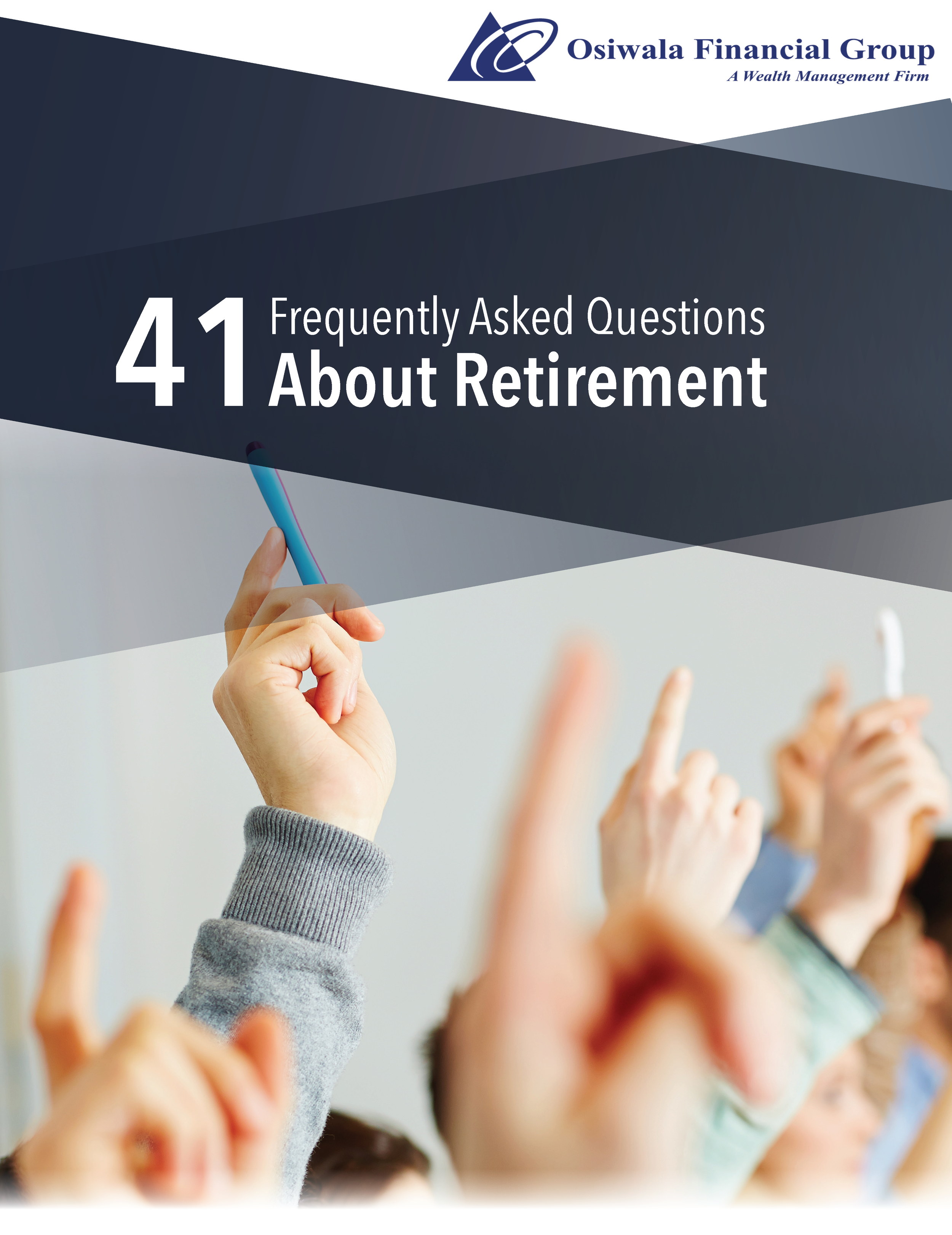41 Frequently Asked Questions About Retirement