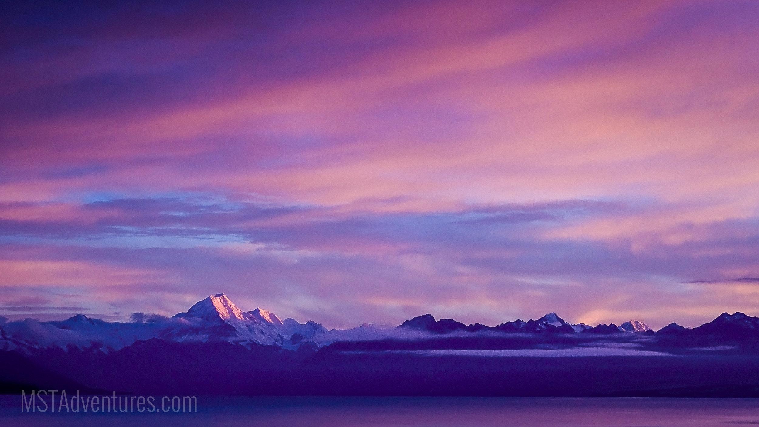 Sunrise Over Aoraki New Zealand.jpg