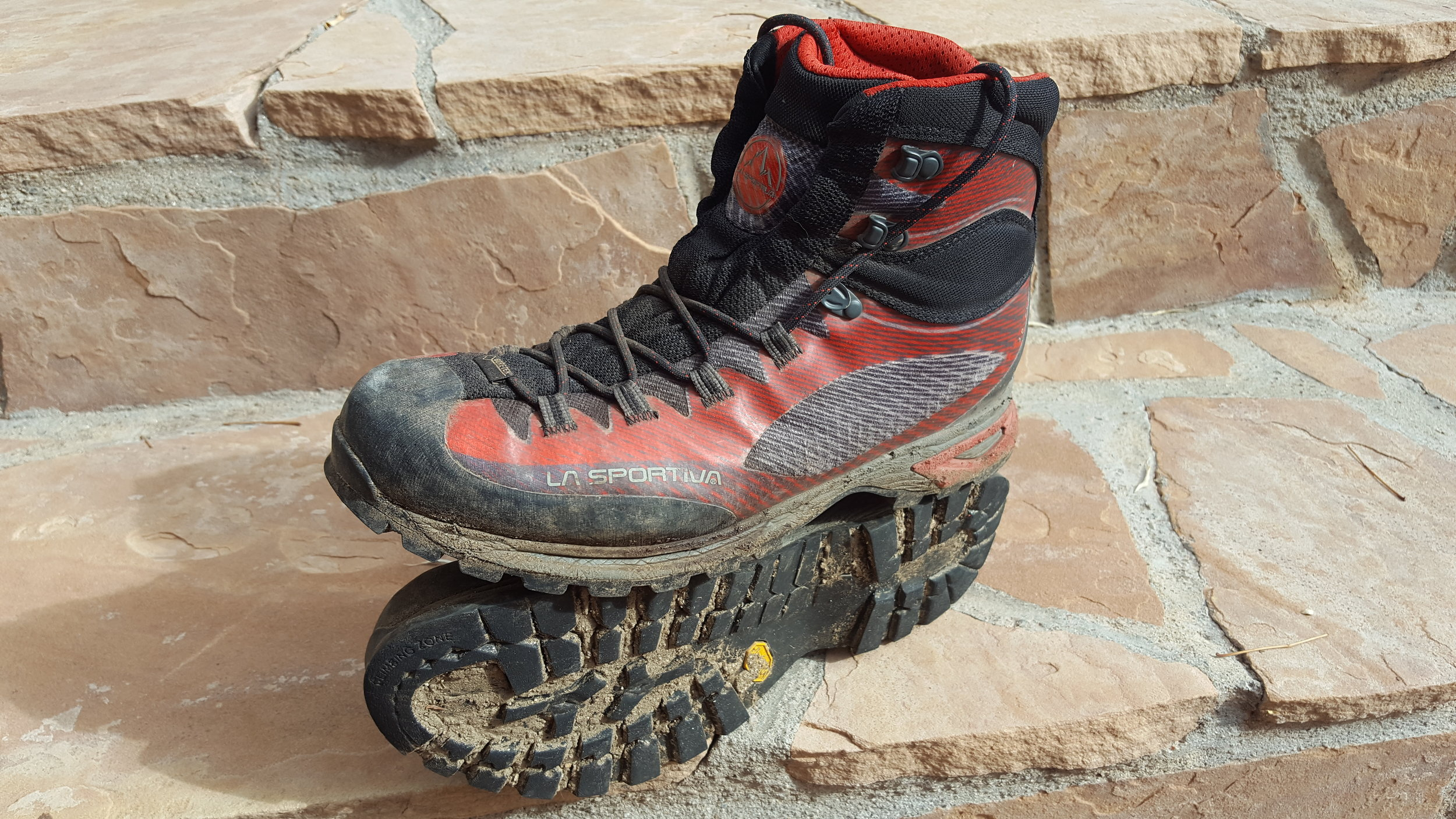 La Sportiva Trango, after 11 months they are still going strong.