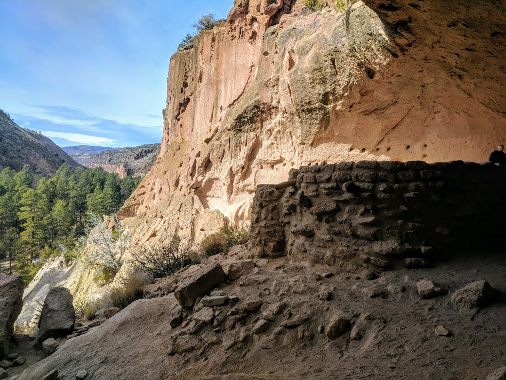 January 7, 2018 - Bandelier National Monument  should  be under a good amount of snow....