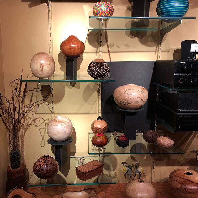 Welcome to Open Studios  #openstudios #wood #woodturning #hollowform #keepcraftalive #greenwoodworker #hollowvessel #woodworking #woodart #homedecor #woodcraft #craftinwood #arthome #homedecorating #woodsculpture #boulderco #rockymountainart #woodturner #mattcohn #cohnundrumwoodworks #woodbowl