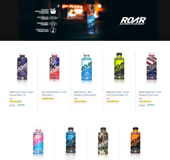 Roar Brand Page