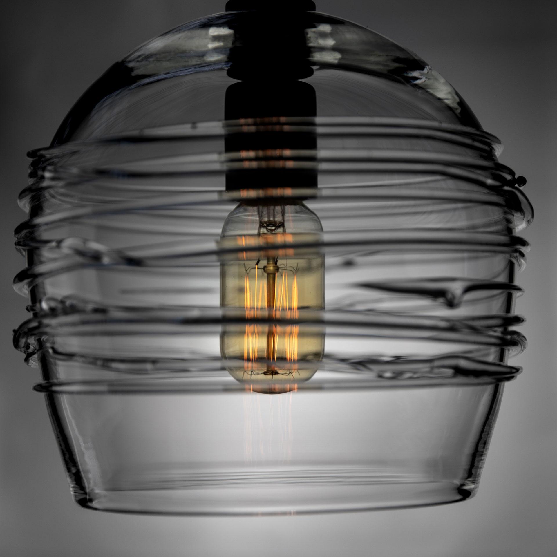 Clear Blown Glass