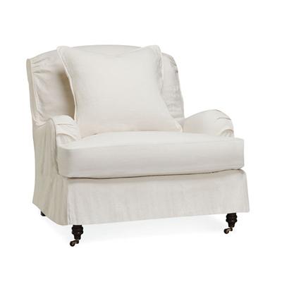 Chair C3277-41 slipcovered