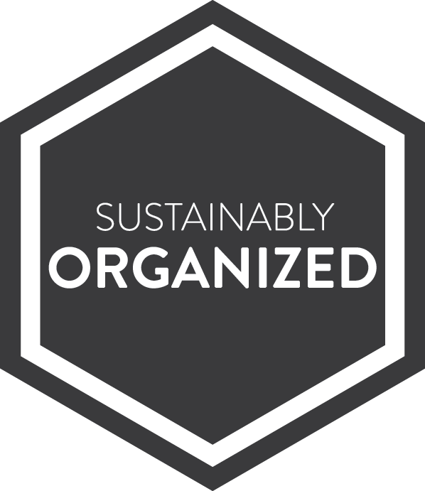 Sustainably Organized Logo