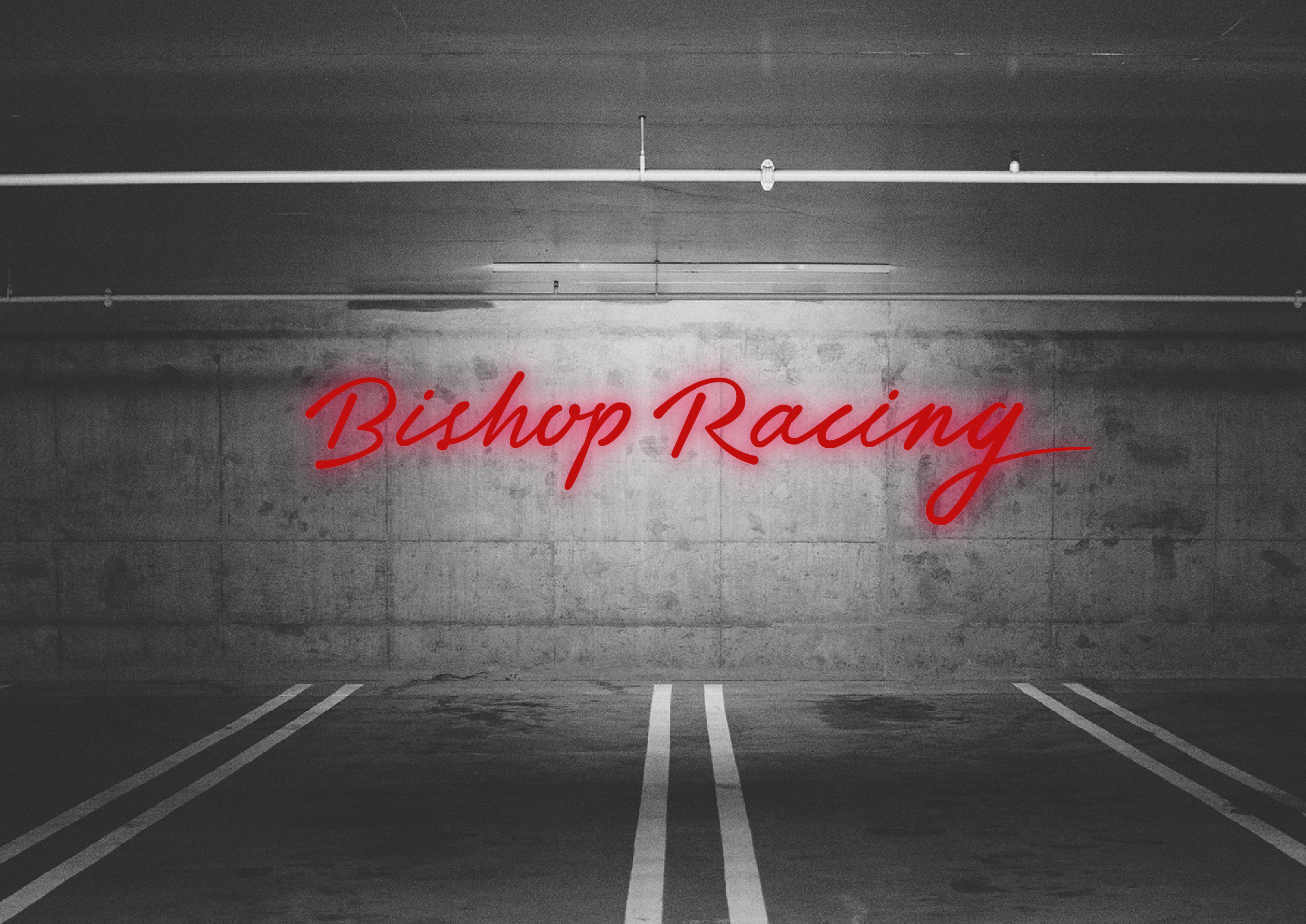 Bishop Racing - Custom Logotype Design