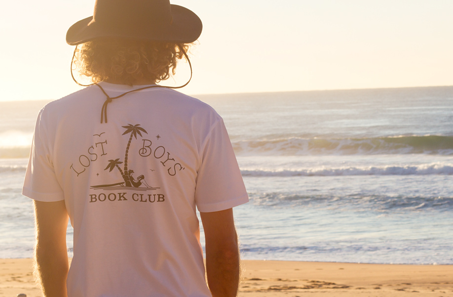 Lost Boys' Book Club - Branding & Apparel Design