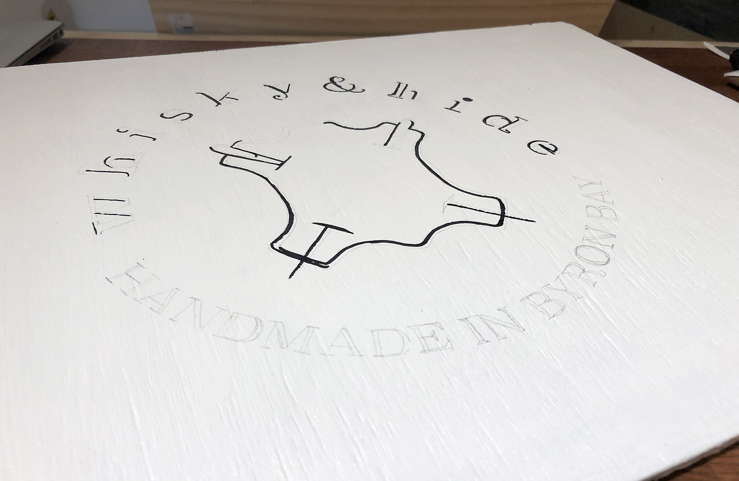 Whisky and Hide Sign In Early Progress.jpg