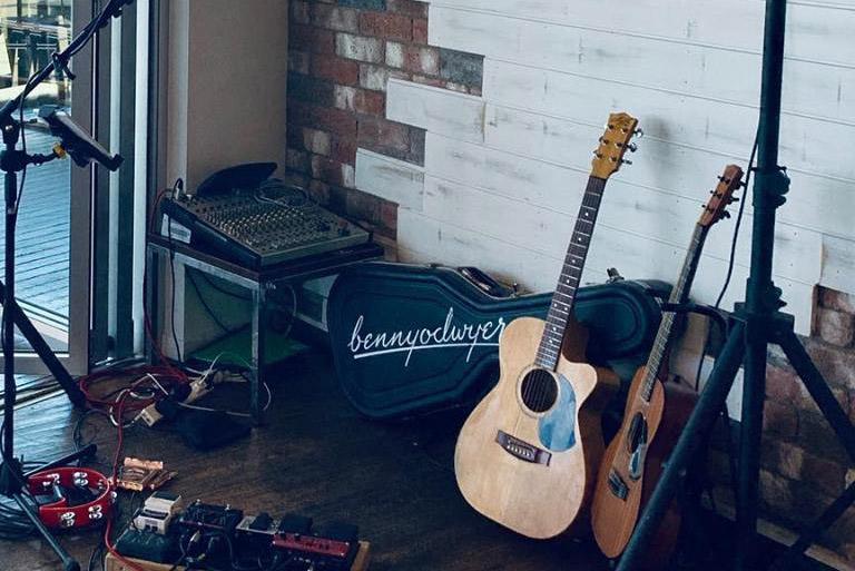 Musician Bennyodwyer - Branding & Custom Logotype