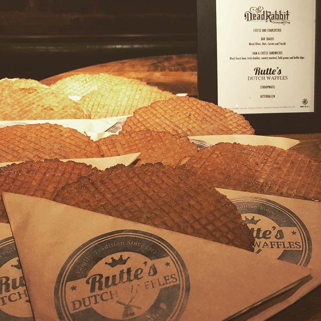 Original Dutch Waffles Made Fresh in New Amsterdam...